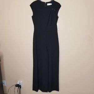 NWT Eliza J | Black Wide Leg Jumpsuit Sleeveless 4